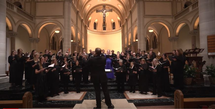 Doug Starr's All Saints Requiem Premiere is Now on YouTube!